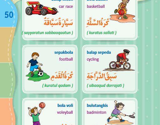 download gratis ebook pdf kamus bergambar 3 bahasa indonesia, inggris, arab nama-nama olahraga (1)
