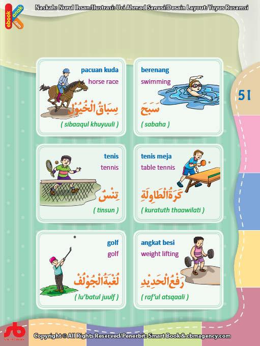 download gratis ebook pdf kamus bergambar 3 bahasa indonesia, inggris, arab nama-nama olahraga (2)