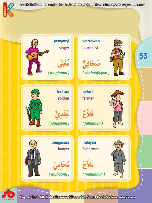 download gratis ebook pdf kamus bergambar 3 bahasa indonesia, inggris, arab nama-nama pekerjaan (2)