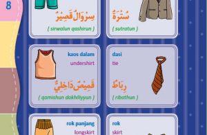 download gratis ebook pdf kamus bergambar 3 bahasa indonesia, inggris, arab pakaian 2