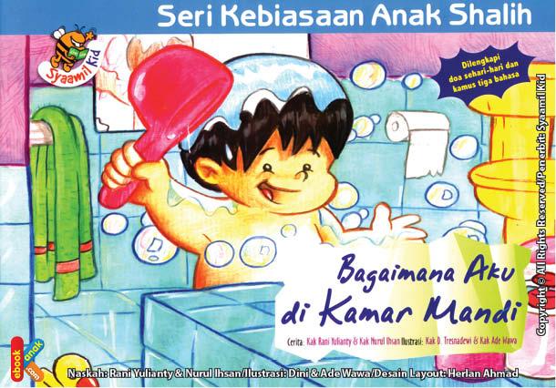 download gratis ebook pdf seri kebiasaan anak shalih bagaimana aku di kamar mandi cover depan