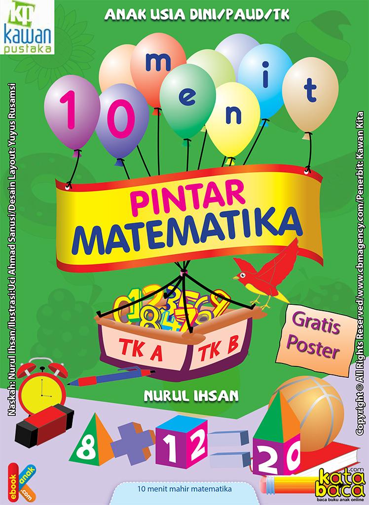 Download Gratis Ebook 10 Menit Pintar Matematika Untuk Paud Tk Ebook Anak