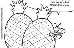 ebook seri mewarnai cerita thayyibah allahu akbar Manfaat Buah Nanas untuk Membantu Kesehatan Pencernaan