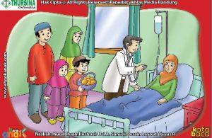 Gambar Orang Sakit Di Rumah Sakit Kartun Aristek Sederhana