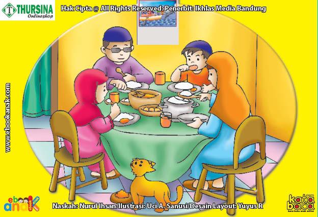 gambar adab sebelum makan
