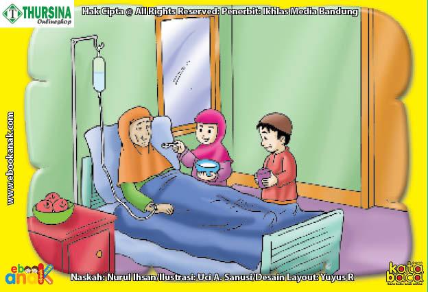 gambar cara mudah dan praktis merawat orang sakit