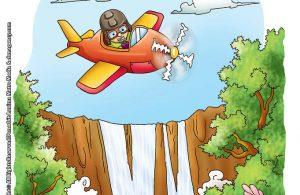 ilustrasi rahasia keajaiban bumi air terjun victoria