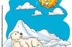 ilustrasi rahasia keajaiban matahari, Apakah Matahari Masih Bisa Bersinar di Kutub Utara dan Kutub Selatan