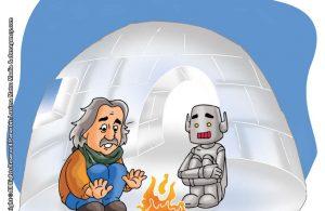 ilustrasi rahasia keajaiban matahari, Kenapa Orang di Kutub Membangun Rumah dari Es