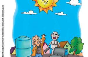 ilustrasi rahasia keajaiban matahari, Matahari Sumber Kehidupan Kita