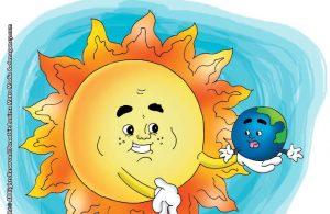 ilustrasi rahasia keajaiban matahari, apakah matahari itu