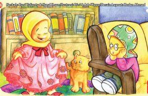 ilustrasi seri kebiasaan anak shalih tidak menyombongkan diri dengan pakaian