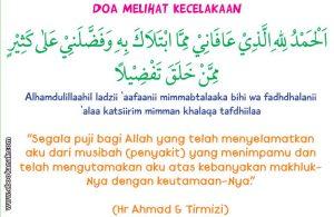 khat bacaan doa ketika melihat kecelakaan