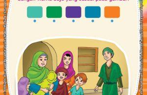 Ebook Seri Belajar Islam Sejak Usia Dini Nabi Muhammad Idolaku, Menghubungkan Warna yang Sesuai dengan Baju