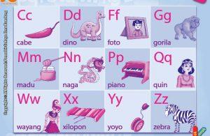 baca dan download gratis 10 menit mahir membaca, Belajar Membaca dan Menulis Huruf Konsonan (2)