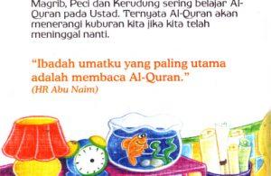 baca ebook seri hadis kecil menolong yuk, Bacalah Al Quran Agar Nanti Menerangi Kita di dalam Kubur