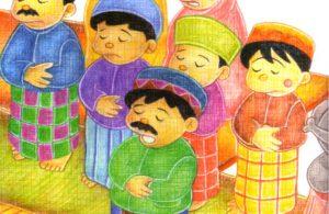 baca ebook seri hadis kecil menolong yuk, Dirikanlah Agama Islam Dengan Mendirikan Shalat