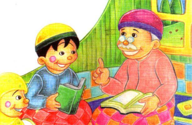 baca ebook seri hadis kecil menolong yuk, Hadits Keutamaan Membaca Al Quran Sebagai Penerang di dalam Kubur