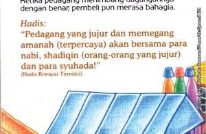 download gratis ebook seri hadis kecil bantu ibu, yuk! Pedagang Jujur akan Bersama Para Nabi, Orang-Orang Jujur, dan Syuhada