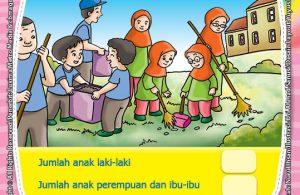 ebook seri belajar islam sejak usia dini Islam Agamaku, Belajar Menghitung Jumlah Benda pada Gambar
