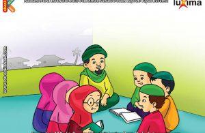 ilustrasi seri belajar islam sejak usia dini ayo berpuasa, Lailatul Qodar Malam yang Lebih Baik Daripada Seribu Bulan