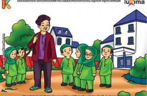 ilustrasi seri belajar islam sejak usia dini mengenal asmaul husna, Nama-Nama Allah yang Baik Terdiri dalam 99 Nama Asmaul Husna