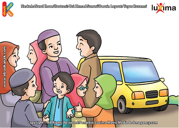 ilustrasi seri belajar islam sejak usia dini mengenal islam agamaku, Silaturahim Akan Memperpanjang Usia dan Melapangkan Rezeki