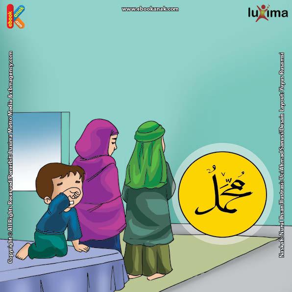 ilustrasi seri belajar islam sejak usia dini nabi muhammad idolaku, Kapan Nabi Muhammad Pernah Mempercepat Shalatnya