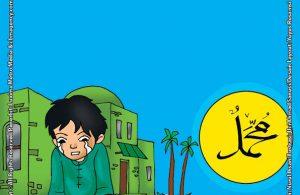 ilustrasi seri belajar islam sejak usia dini nabi muhammad idolaku, Seperti Apa Kasih Sayang Nabi Muhammad SAW pada Anak Kecil