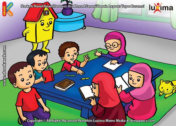 ilustrasi seri belajar sejak usia dini mengenal rukun iman, Bagaimana Cara Mendapatkan Takdir yang Baik
