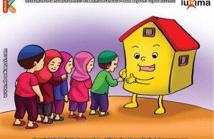 ilustrasi seri belajar sejak usia dini mengenal rukun iman, Rukun Iman Adalah Pondasi Kepercayaan Seorang Muslim