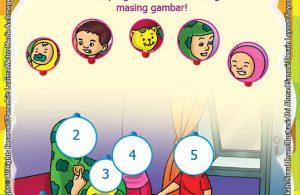 seri belajar islam sejak usia dini, Ayo Berpuasa, Lembar Aktivitas PAUD TK Mengenal Identitas Anggota Keluarga