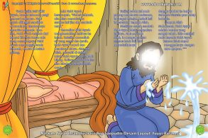ebook cinta nabi pahlawanku, Kemunculan Air Ajaib dari dalam Tanah Pengobat Penyakit Nabi Ayyub