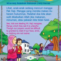 ebook seri belajar islam sejak usia dini Aku Suka Berdoa, Doa Sulit Diterima Allah Jika Makanan, Minuman, dan Pakaian Kita Tidak Halal