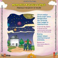 ebook seri sains anak mengenal alam semesta Rahasia Keajaiban Ruang Angkasa, Di Manakah Kita Bisa Mengintip Rahasia Langit