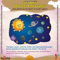 ebook seri sains anak mengenal alam semesta Rahasia Keajaiban Ruang Angkasa, Keluarga Benda di Langit Disebut Tata Surya