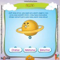 ebook seri sains anak mengenal alam semesta Rahasia Keajaiban Ruang Angkasa, Lembar Aktivitas PAUD TK Mengenal Anggota Tata Surya