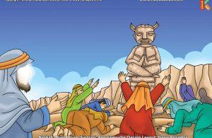 ilustrasi cinta nabi pahlawanku, Ancaman Kaum Madyan Penyembah Berhala kepada Nabi Syuaib