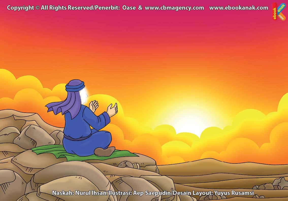 ilustrasi cinta nabi pahlawanku, Apa Isi Doa Nabi Zakaria Saat Berdoa di Atas Bukit