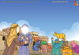 ilustrasi cinta nabi pahlawanku, Bagaimana Cara Nabi Musa Mencegah Umatnya Menyembah Patung Anak Sapi