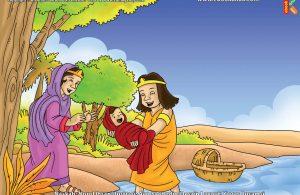 ilustrasi cinta nabi pahlawanku, Inilah Alasan Bunda Yukabad Menghanyutkan Nabi Musa ke Sungai Nil