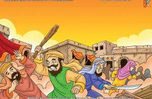 ilustrasi cinta nabi pahlawanku, Inilah Bentuk Siksaan dan Ancaman yang Menimpa Pengikut Nabi Syuaib