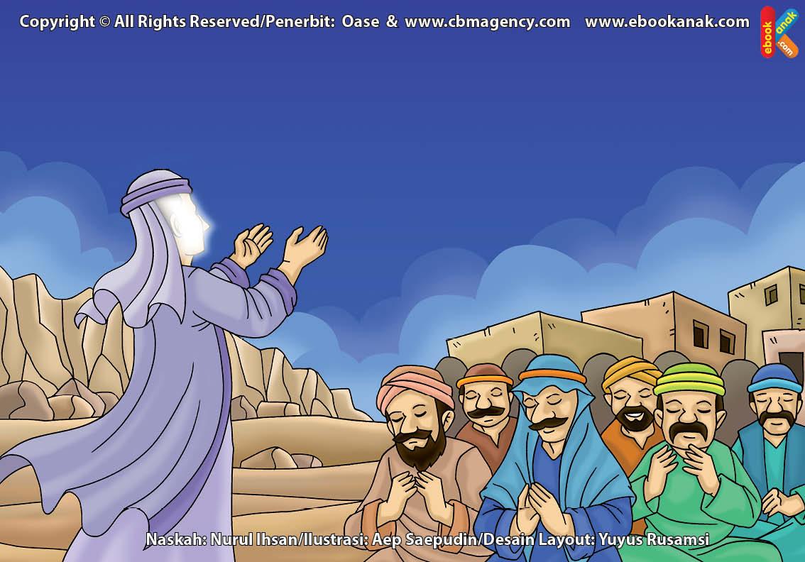 ilustrasi cinta nabi pahlawanku, Inilah Penyebab Bani Israel Berputus Asa Memuja Patung Baal