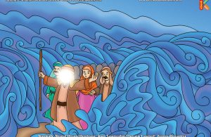 ilustrasi cinta nabi pahlawanku, Inilah yang Dilakukan Firaun Ketika Laut Merah Terbelah Dua