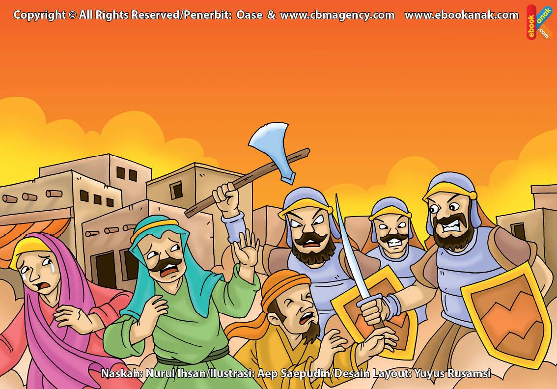 ilustrasi cinta nabi pahlawanku, Kenapa Herodia Meminta Herodus untuk Membunuh Nabi Yahya