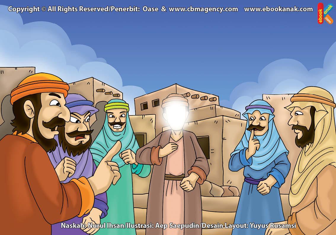 ilustrasi cinta nabi pahlawanku, Kenapa Kenabian Nabi Ilyasa Ditentang Penguasa Balabak
