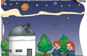 ilustrasi rahasia keajaiban ruang angkasa, Di Manakah Kita Bisa Mengintip Rahasia Langit