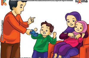 ilustrasi seri belajar islam sejak usia dini aku senang bersedekah, Amalan Sedekah Menjadikan Hidup Kita Tercukupi