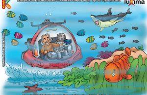 ilustrasi seri sains anak mengenal alam semesta rahasia keajaiban lautan, Apakah Manfaat Laut Bagi Para Ilmuwan dan Peneliti