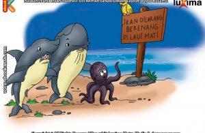 ilustrasi seri sains anak mengenal alam semesta rahasia keajaiban lautan, Inilah Alasan Kenapa Laut Ini Dinamai Laut Mati
